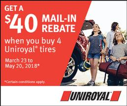 International Tire & Equipment Ltd. - SAVE up to $70 on a set of 4 Tires